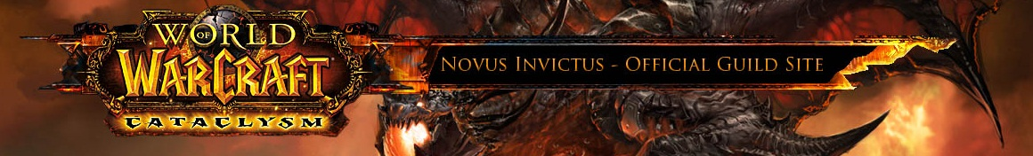 Novus Invictus Guild Website